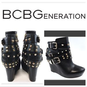 BCBG Generation Aspen Wedge Bootie